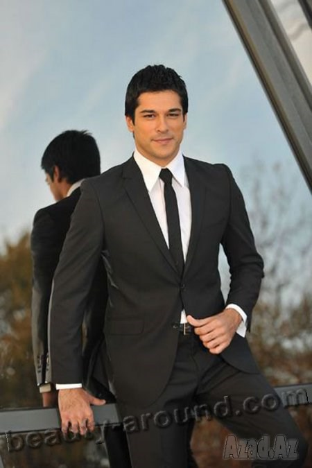 Burak Ozcivit in suit photo