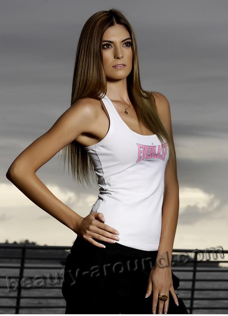 Marie Ann Salas Miss International Сhile 2007 photo