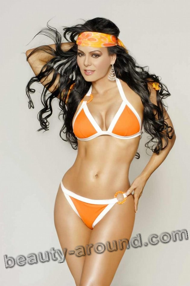 Beautiful Costa Rican Women, Maribel Guardia Costa Rican actress, model and TV host
