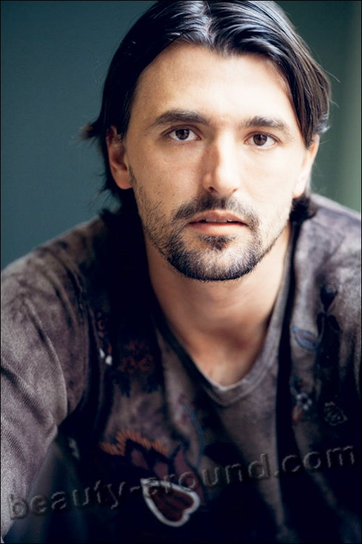 Goran Ivanisevic handsome Croatian professional tennis player photo