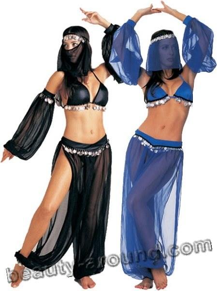 костюм беллиденса, шаровары для танца живота