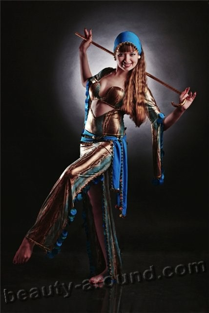 атрибутика танца живота, танец с тростью