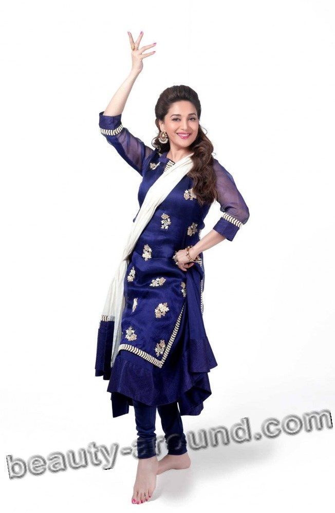 Madhuri Dixit Indian actress and professional dancer of Kathak photo