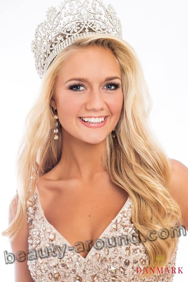 Jessica Hvirvelker Мисс Дания 2015 фото