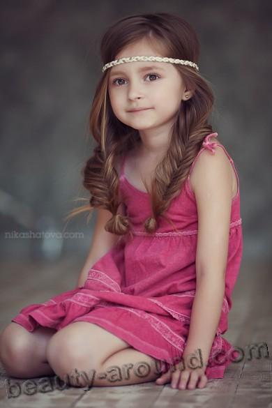 Жанетта Костюкова / Janetta Kostyukova юные девочки модели России фото