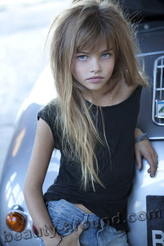 Thylane Blondeau most beautiful young model photo