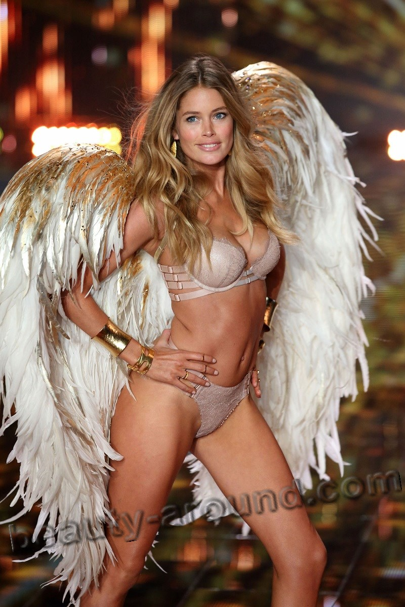 Doutzen Kroes beautiful Angel of Victoria's Secret photo