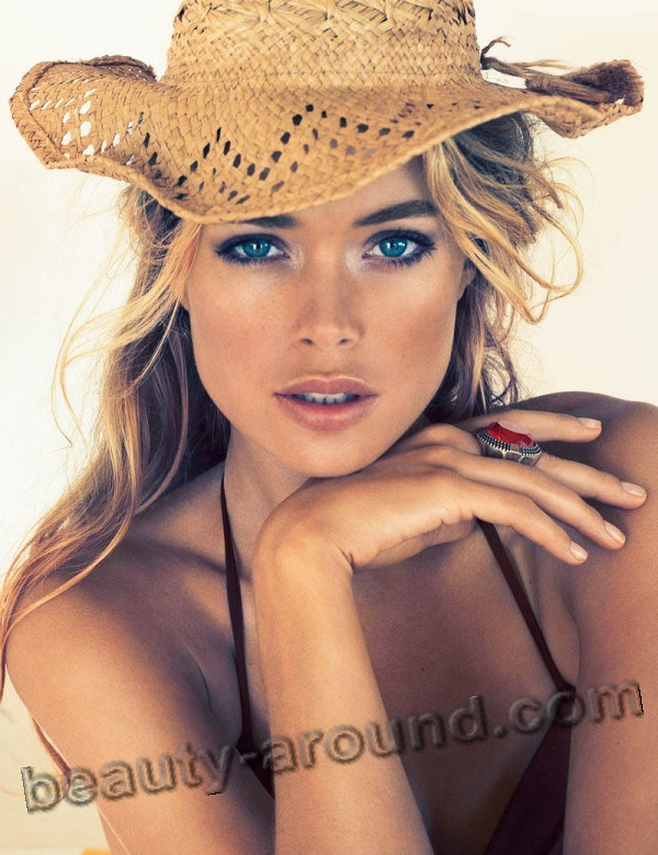 Doutzen Kroes most beautiful Frisian model photo