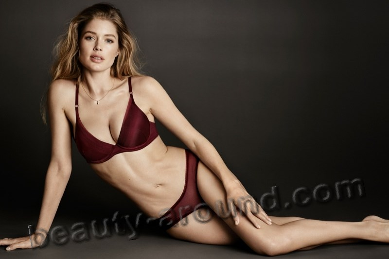 Doutzen Kroes is a Dutch model photo