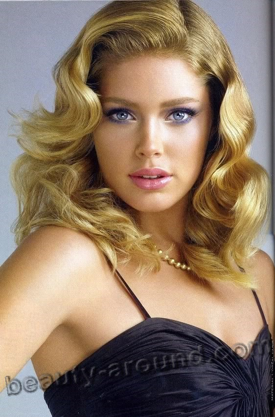 Doutzen Kroes most beautiful Dutch model picture