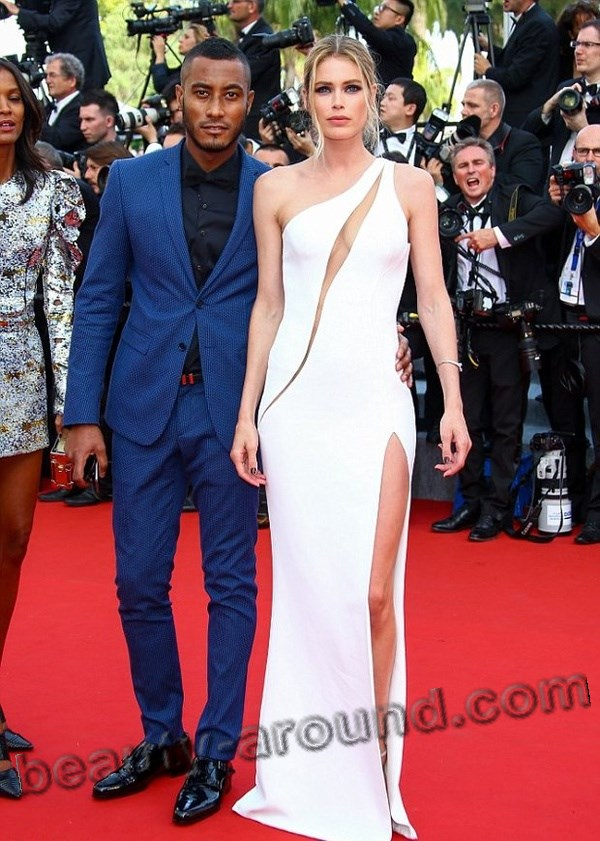 Doutzen Kroes and her husband Sunnery James Gorre photo