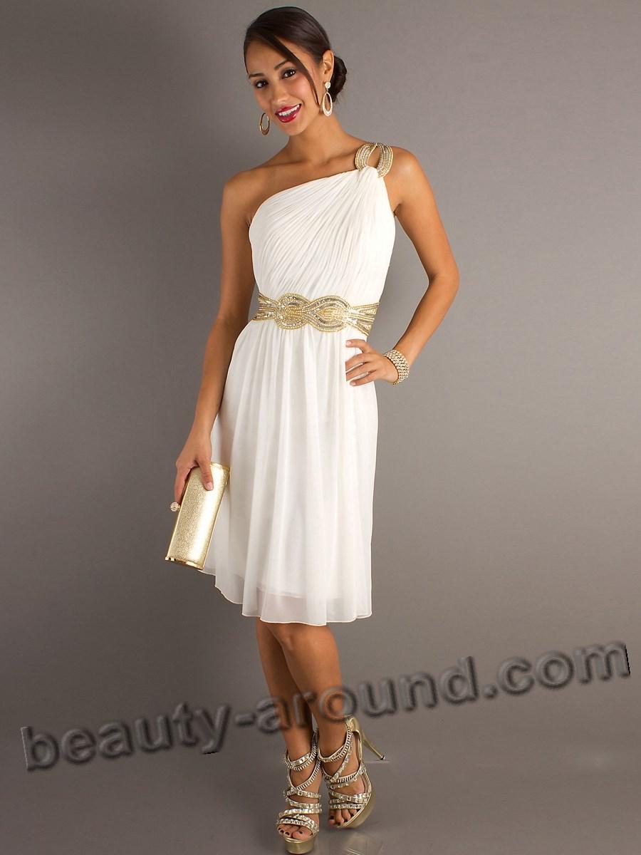 Выпускные платья в греческом стиле фото