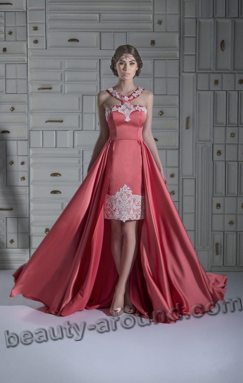 Элегантное платье для выпускного фото