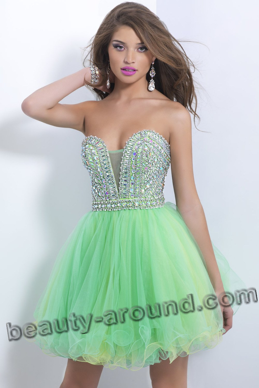 Выпускное платье в стиле Беби Долл фото