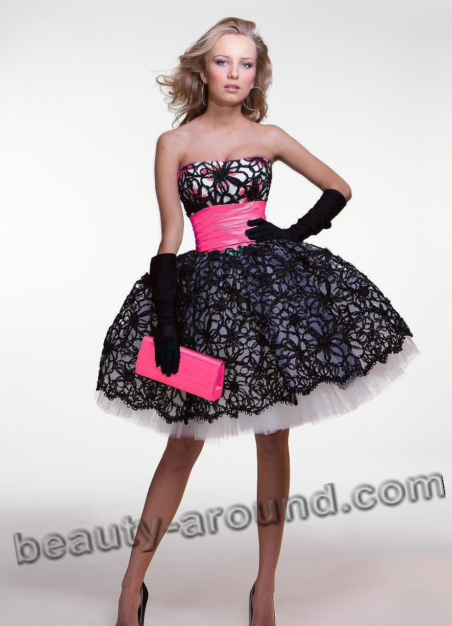 Модное выпускное платье в 2015 году фото