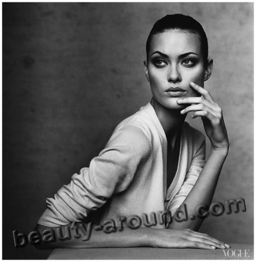 Beautiful Jewish women. Shalom Harlow, photo, Canadian top model and actress of Jewish descent.