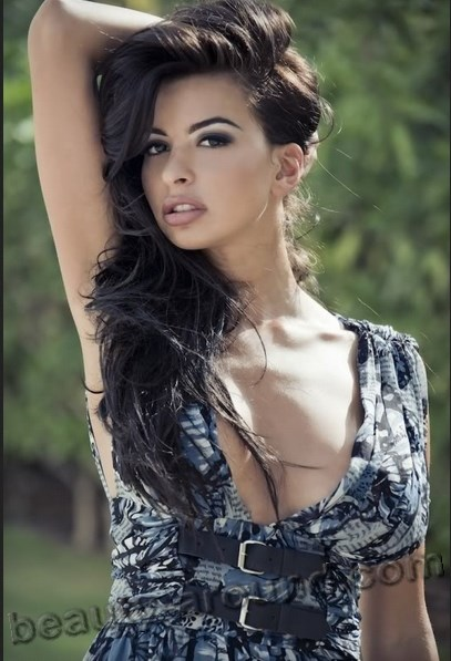 Sara El-Khouly beautiful Egyptian model photo