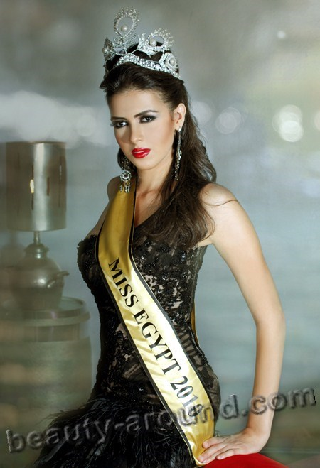 Beautiful Egyptian Women Donia Hammed Miss Universe Egypt 2010 photo