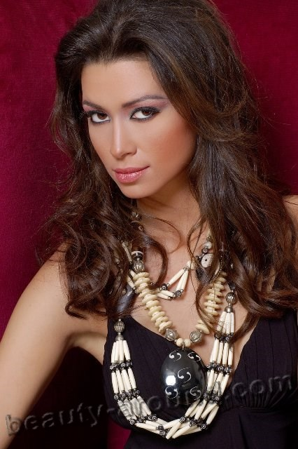 Beautiful Egyptian Women Arwa Gouda Egyptian model photo