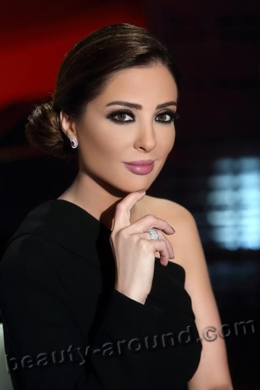 Beautiful Egyptian Women Wafaa Kilani Egyptian television presenter photo