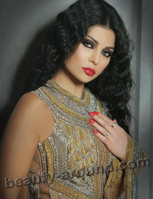 Beautiful Egyptian Women Haifa Wehbe Lebanese singer pictures