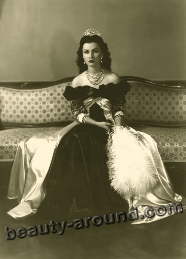 Beautiful Egyptian Women Fawzia Fuad Egyptian princess photo