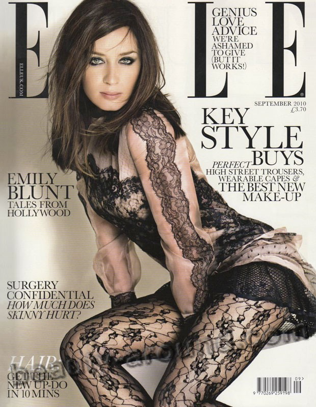 Emily Blunt Magazine Cover photos