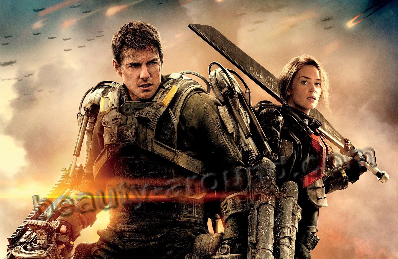 Edge of Tomorrow posters steels