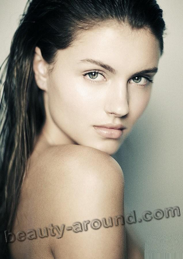 Анетт Грифель самая красивая эстонская модель фото