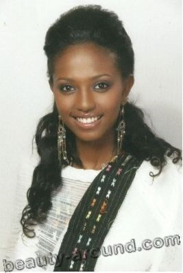 Hiwot Assefa Tesfaye Miss Intercontinental Africa 2009 photo