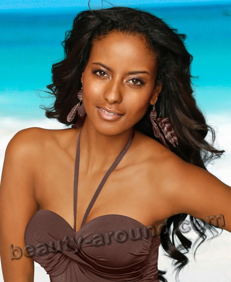 Sara Nuru German fashion model of Ethiopian descent photo