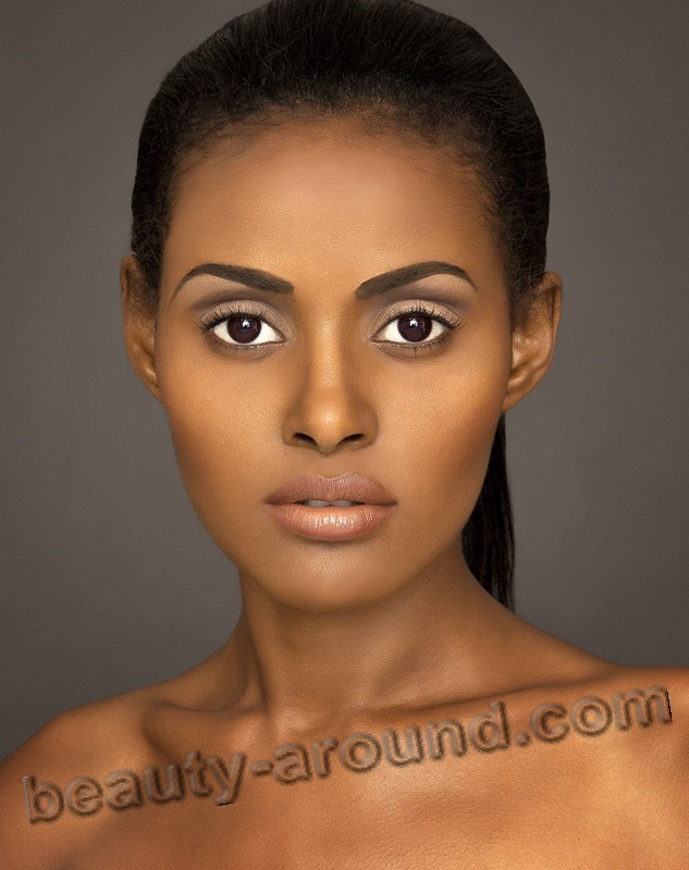 most beautiful Ethiopian model Mearg Tareke photo