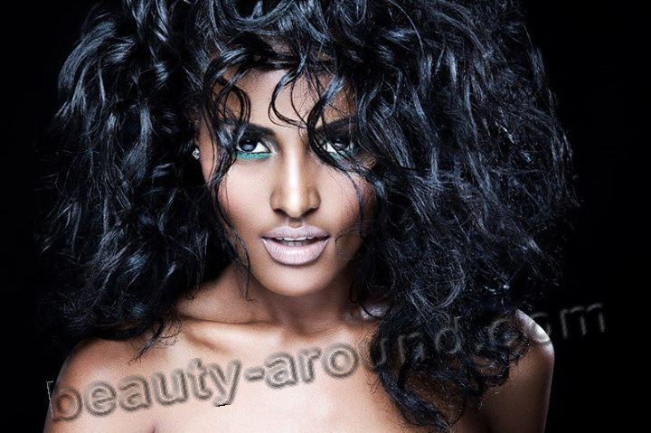 Ethiopian model beautiful photo