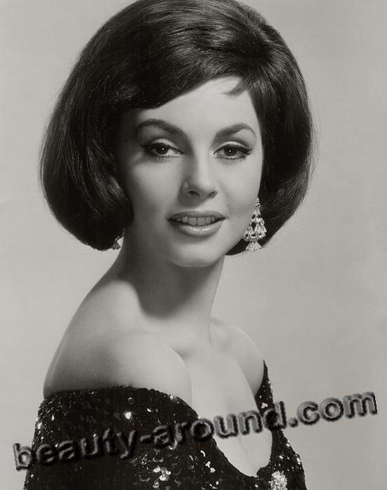 Beautiful European Women Michele Mercier famous French actress