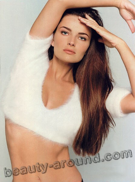 Beautiful Czech Woman Paulina Porizkova-Ocasek top model, actress