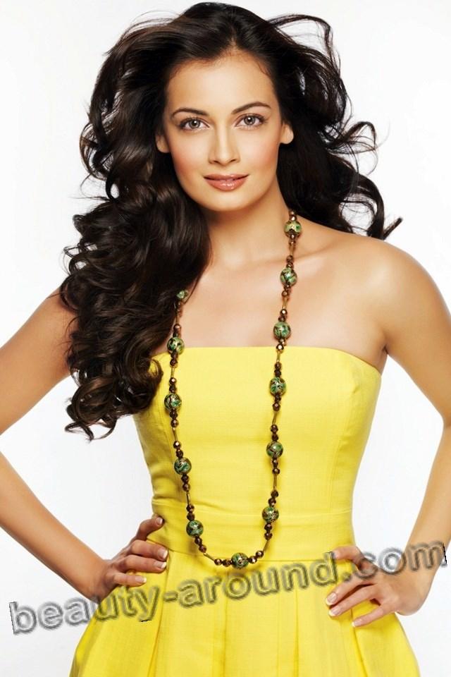 Beautiful German Woman Dia Mirza Indian actress