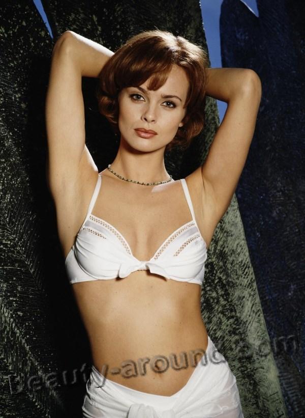 Beautiful Polish Woman Izabella Scorupco Swedish actress of Polish origin