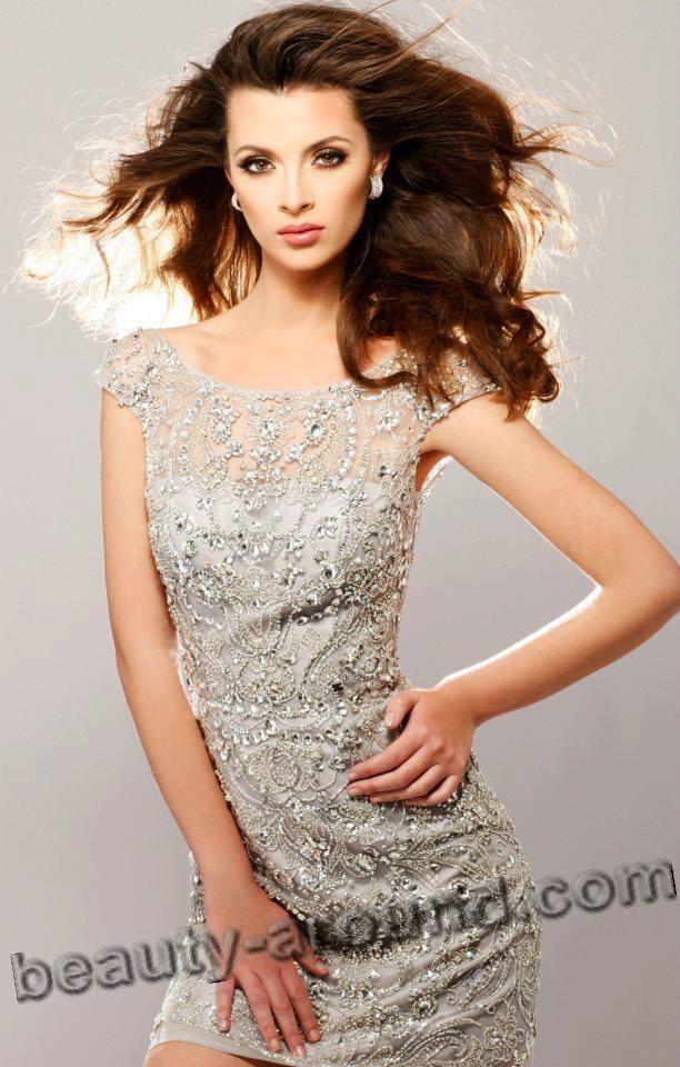 Beautiful Croatian Woman - Elizabeta Burg winner Miss Universe Croatia 2012