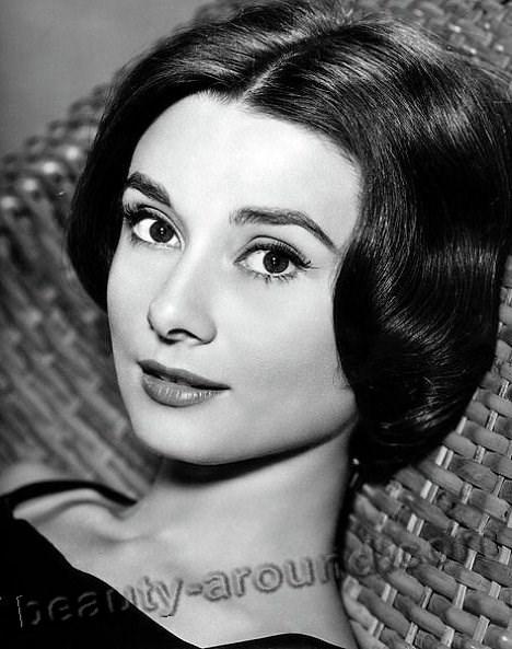 Beautiful Dutch Woman Audrey Hepburn British and American actress, fashion model