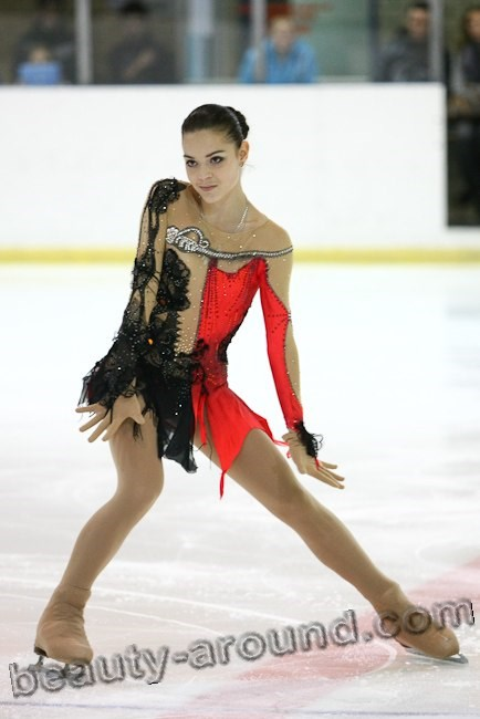 Adelina Sotnikova is a Russian figure skater photo