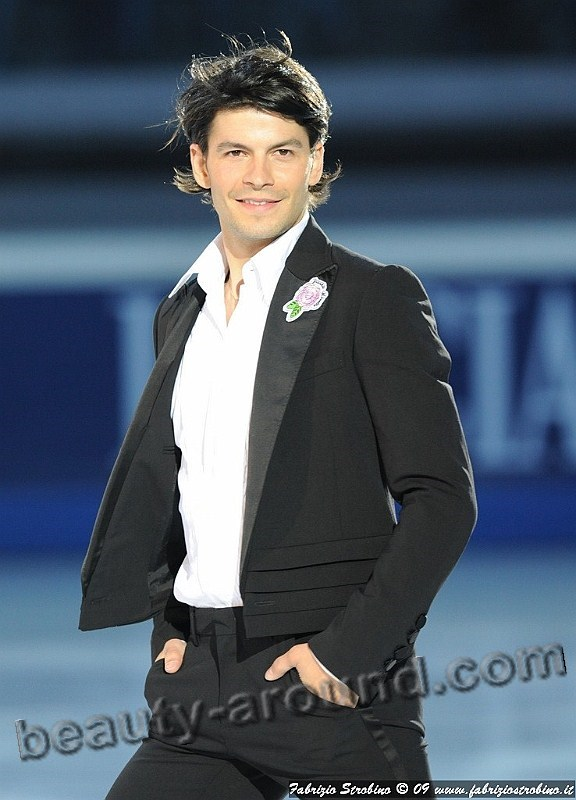 The most handsome figure skater Stephane Lambiel photo