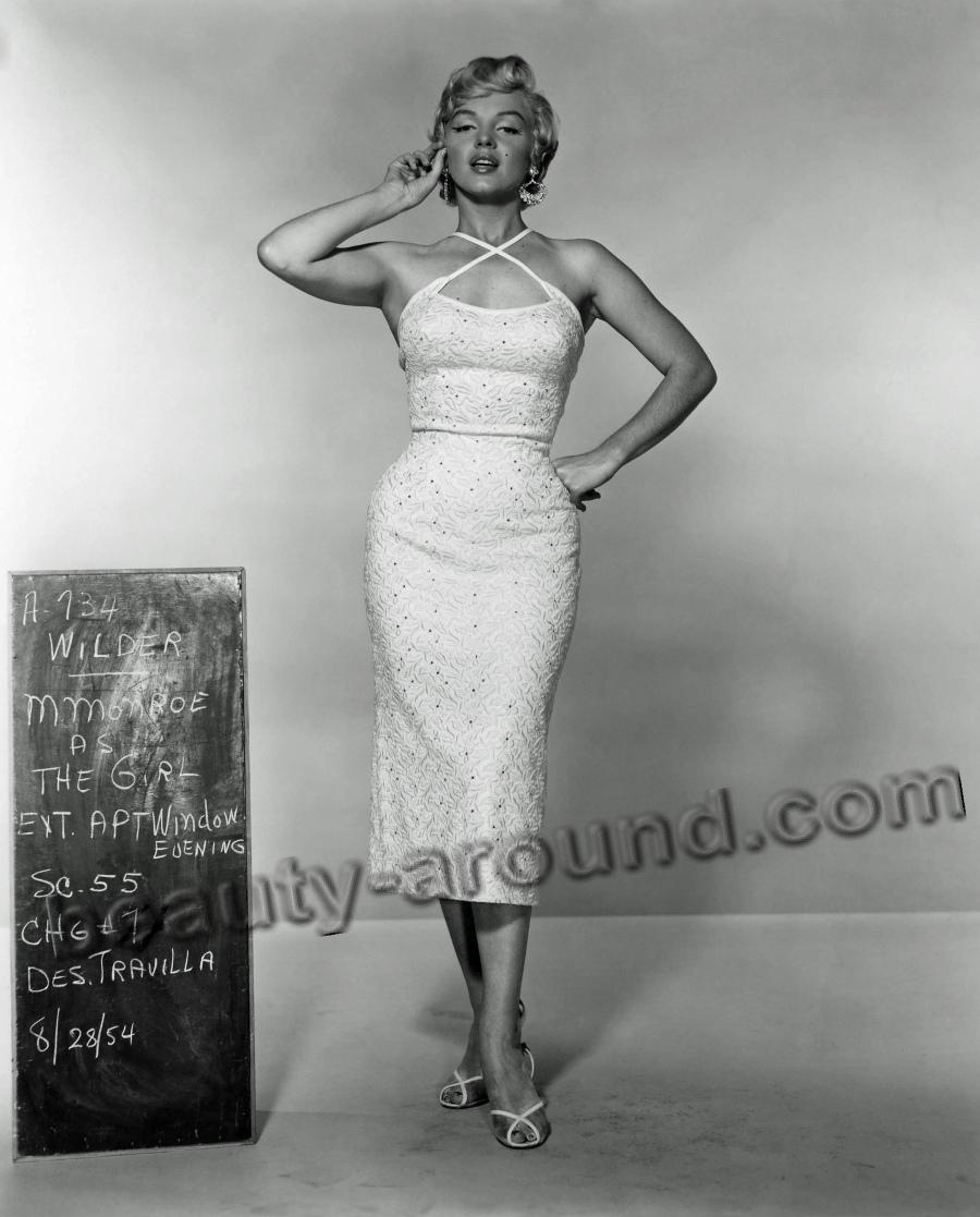 Мэрэлин Монро секс-символ 1950-ых годов фото