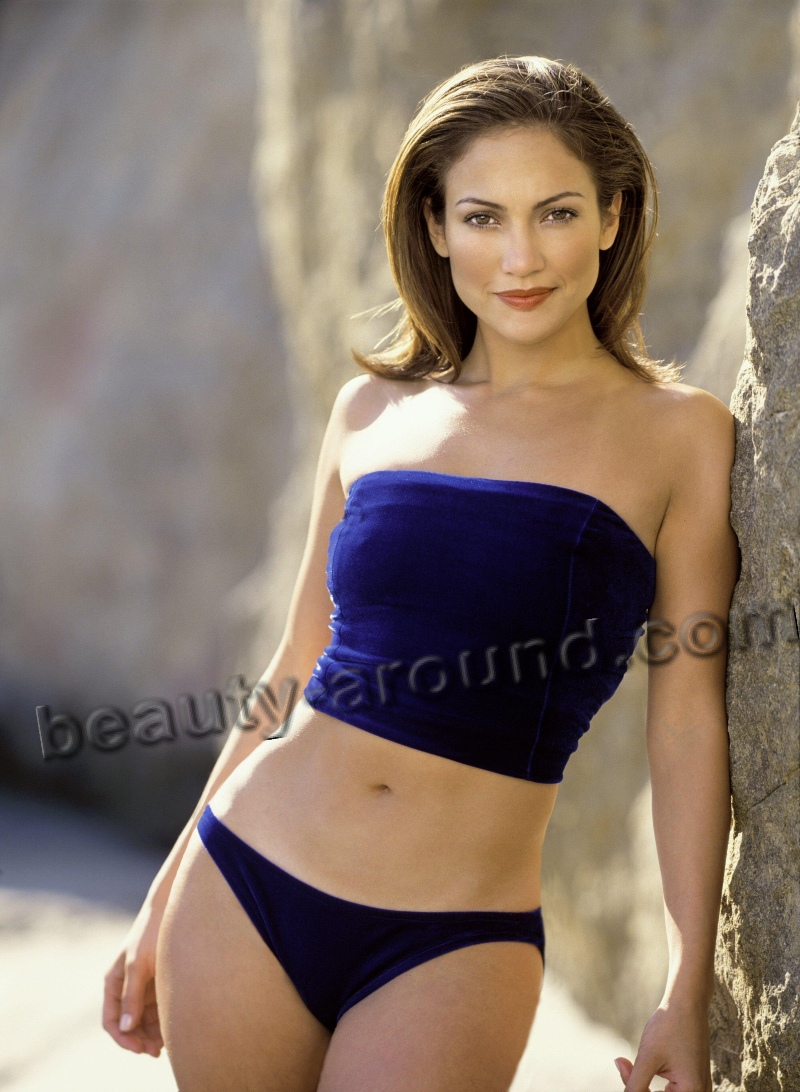 Дженнифер Лопес обладательница красивой попы фото