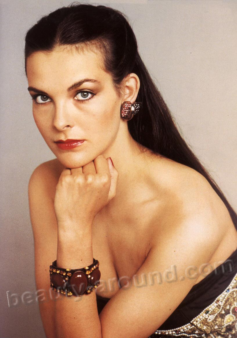 Carole Bouquet  beautiful french actress