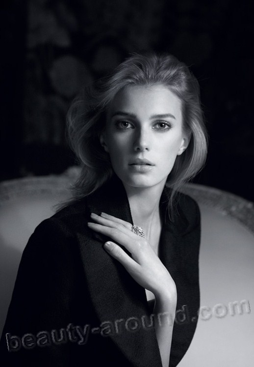Sigrid Agren  French-Swedish model