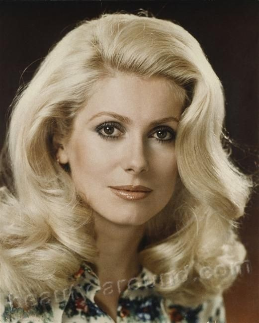 Catherine Deneuve the most beautiful French woman photo