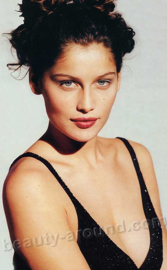 Laetitia Casta famous French model and actress