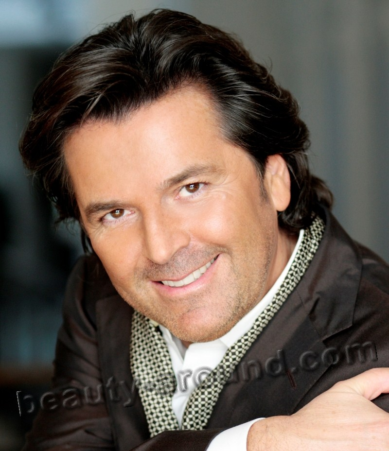 Thomas Anders, photo, German pop singer, lead singer of modern talking
