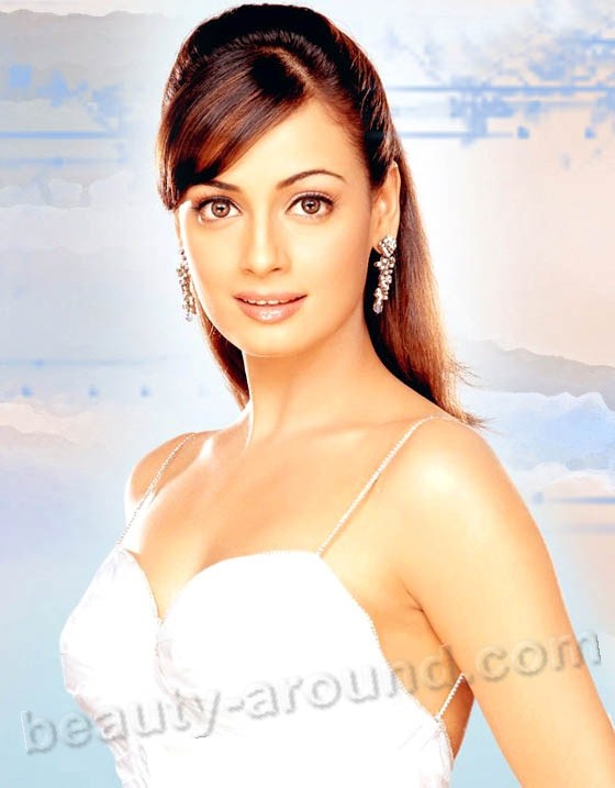 Beautiful German Women - Dia Mirza Indian actress