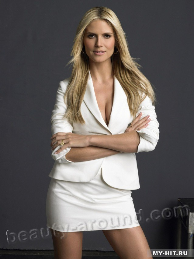 Beautiful German Women - Heidi Klum German topmodel, actress and TV presenter
